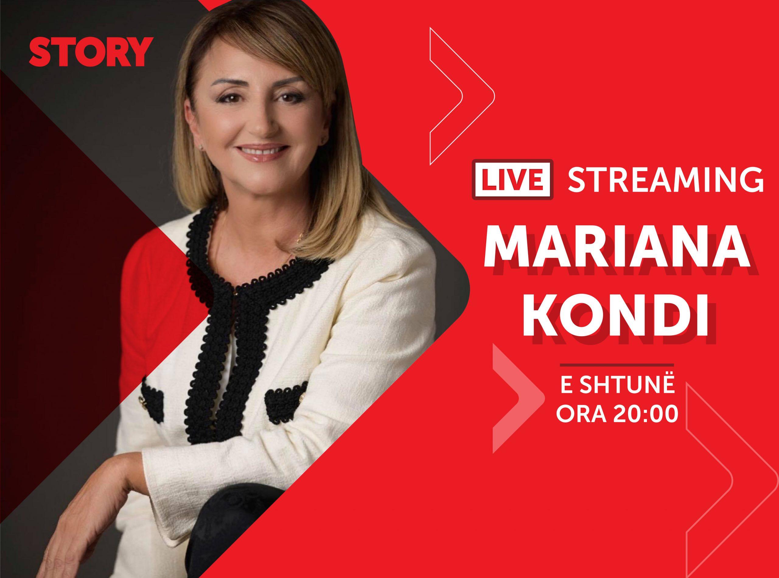 Mariana Kondi në një rrëfim ekskluziv live për STORY