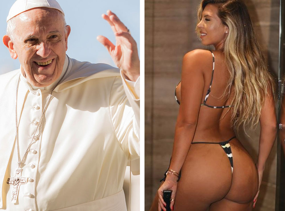 """""""Do shkoj në parajsë""""- Ekspozoi të pasmet bombastike, reagon modelja pasi mori 'like' nga llogaria e Papa Françeskut"""