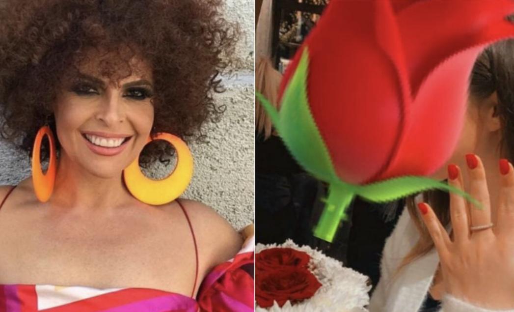 Falë Aurela Gaçes një vajzë mori propozimin për martesë!