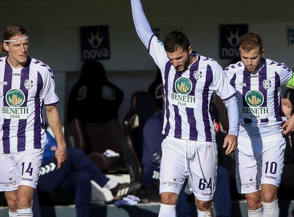 Festë e çmendur, futbollisti shqiptar shënon golin e tretë në kampionatin grek