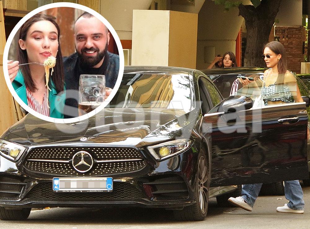 PAPARAZZI/ Jona Spahiu me makinë luksoze, si i ndryshoi jeta pas martesës!