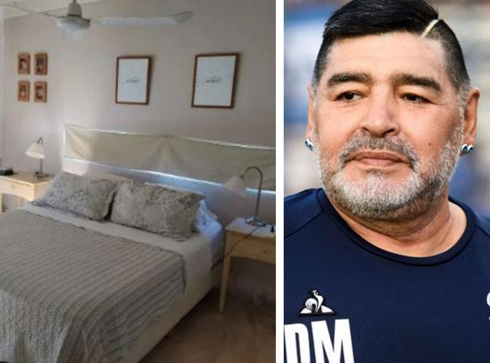 14 mijë euro në muaj, zbulohet shtëpia e fundit e Maradonës