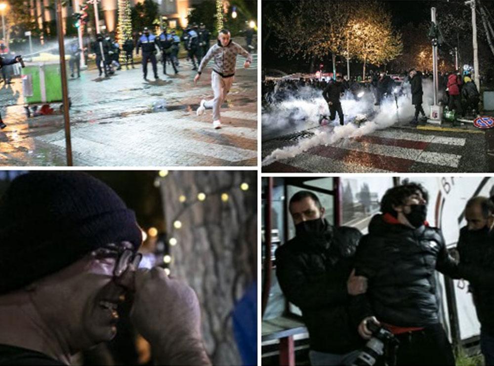 REPORTAZH/ Protesta e dytë për Klodian Rashën, momentet 'pikante' në foto dhe video! Nga lotët e Budinës, te vrapi i të rinjve