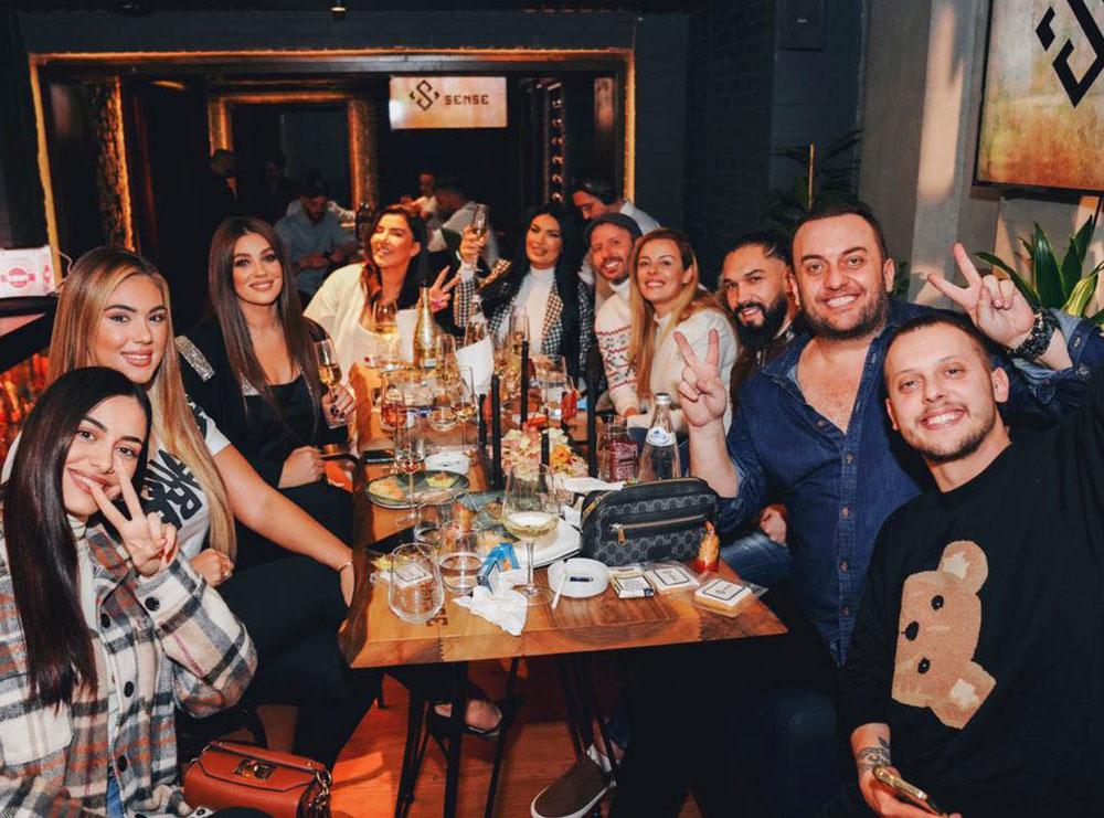 """""""Yjet e instagramit, ndezin festën e hapjes së """"Sense Resto-Lounge"""" klubit më të ri në kryeqytet"""""""