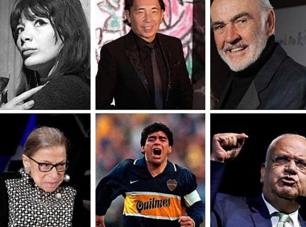 Nga Chadwick Boseman te Kobe Bryant dhe Diego Maradona/ Këto janë figurat e njohura botërore që ndërruan jetë në vitin 2020