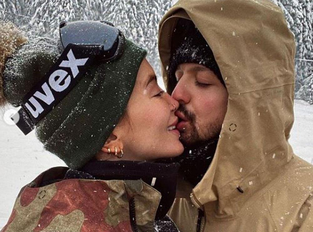 Dafina Zeqiri dhe Dj Geek nuk i kursejnë fotot e videot në rrjete sociale, shfaqen duke u puthur në buzë
