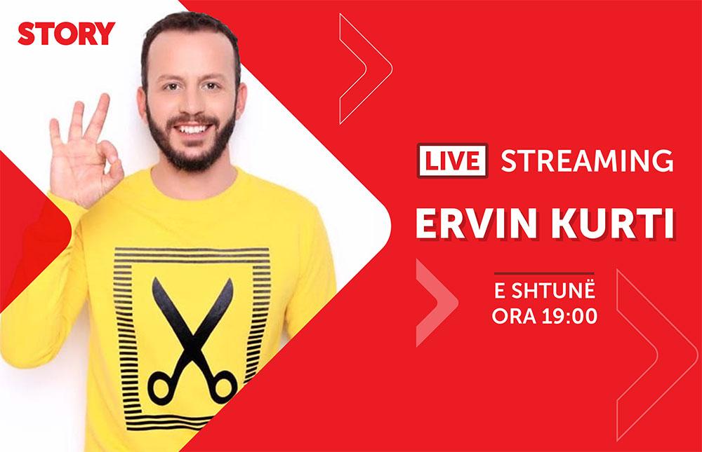 Ervin Kurti në një rrëfim ekskluziv live për STORY