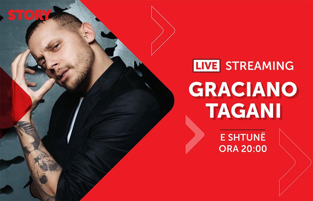 Graciano Tagani në një rrëfim ekskluziv live për STORY