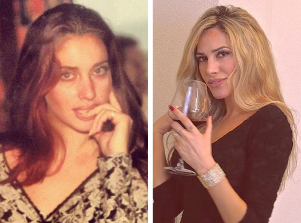 A ka ndonjë ndryshim? Ledina Celo publikon një foto të vjetër të realizuar 24 vite më parë