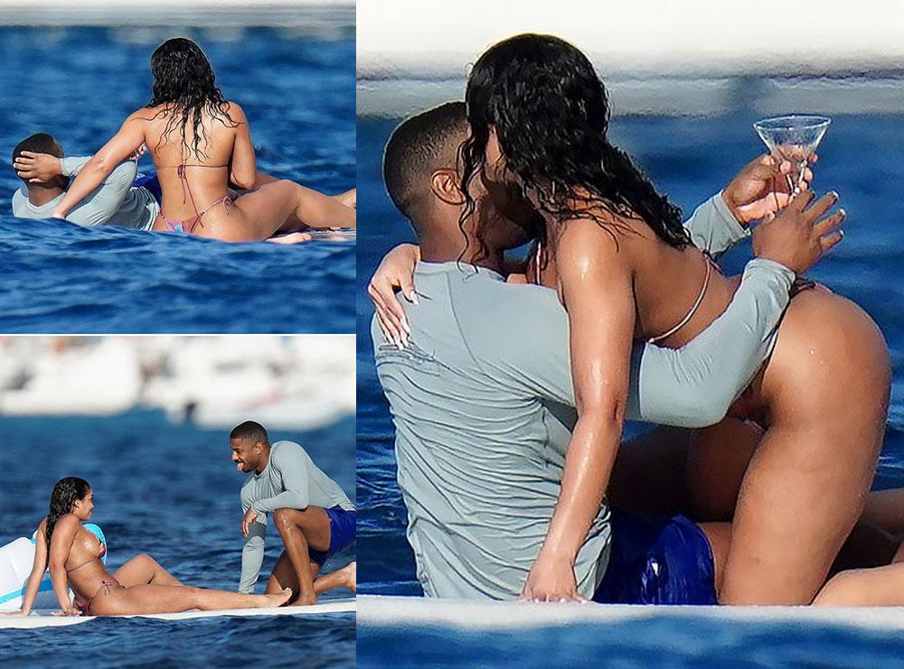Puthje e përqafime, mashkulli më seksi kapet mat në momente intime me të dashurën modele