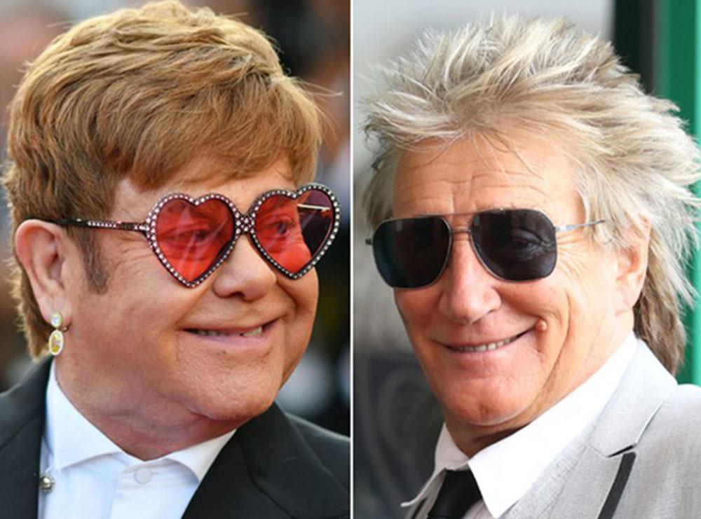 """""""Jeta është shumë e shkurtër"""", Rod Stewart i jep fund grindjes 3-vjeçare me Elton John për hir të fëmijëve të tij"""