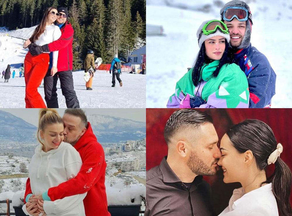 Dashuria që shkriu borën! Si e festuan çiftet e showbizit shqiptar 14-shkurtin mes reshjeve e pandemisë, spitasin dedikimet: Je lindja dhe perëndimi im (Kush udhëtoi jashtë vendit)