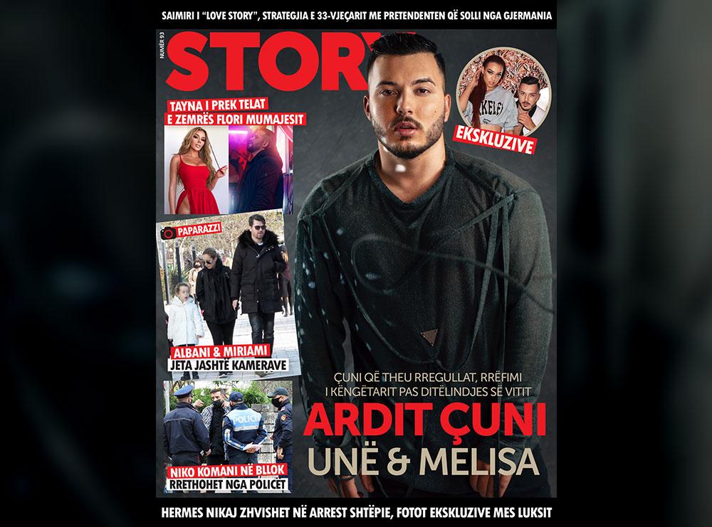 KOPERTINA/ Rrëfimi i Arditit, çunit që theu rregullat: Unë & Melisa, historia që fshihet pas pozave çift!
