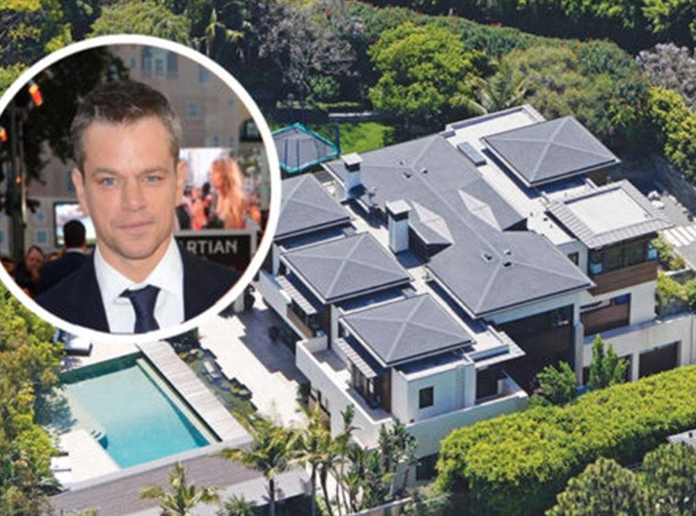 Matt Damon nxjerr në shitje vilën në Los Angeles