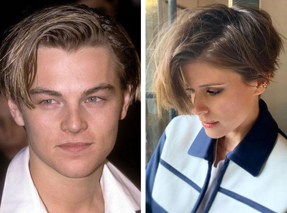Aktorja pret flokët si DiCaprio në vitet '90 dhe duket kaq yll