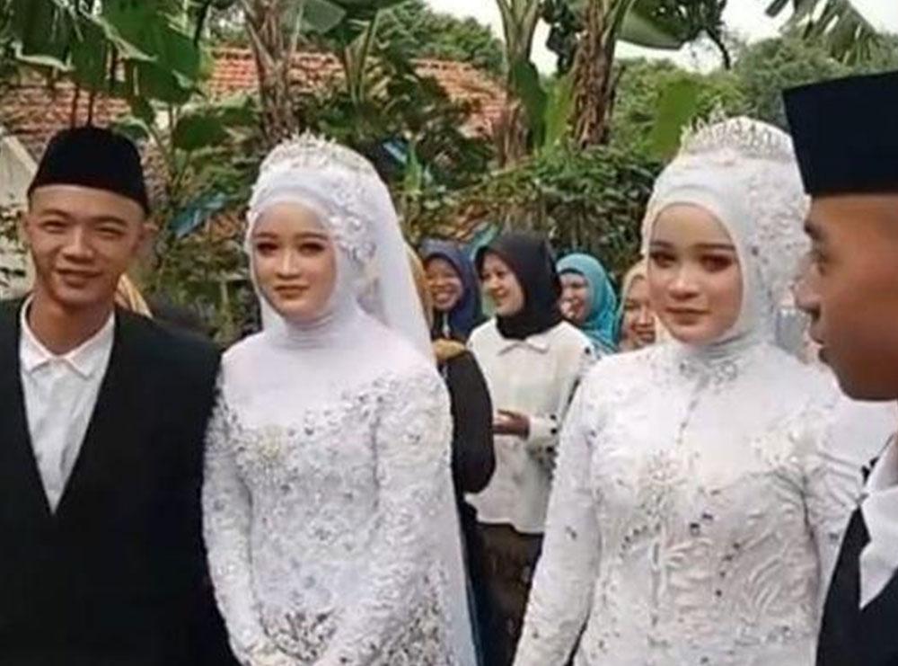 Dy vëllezërit binjakë martohen me motrat binjake dhe jetojnë në shtëpi së bashku, por nganjëherë ngatërrohen (fotot)