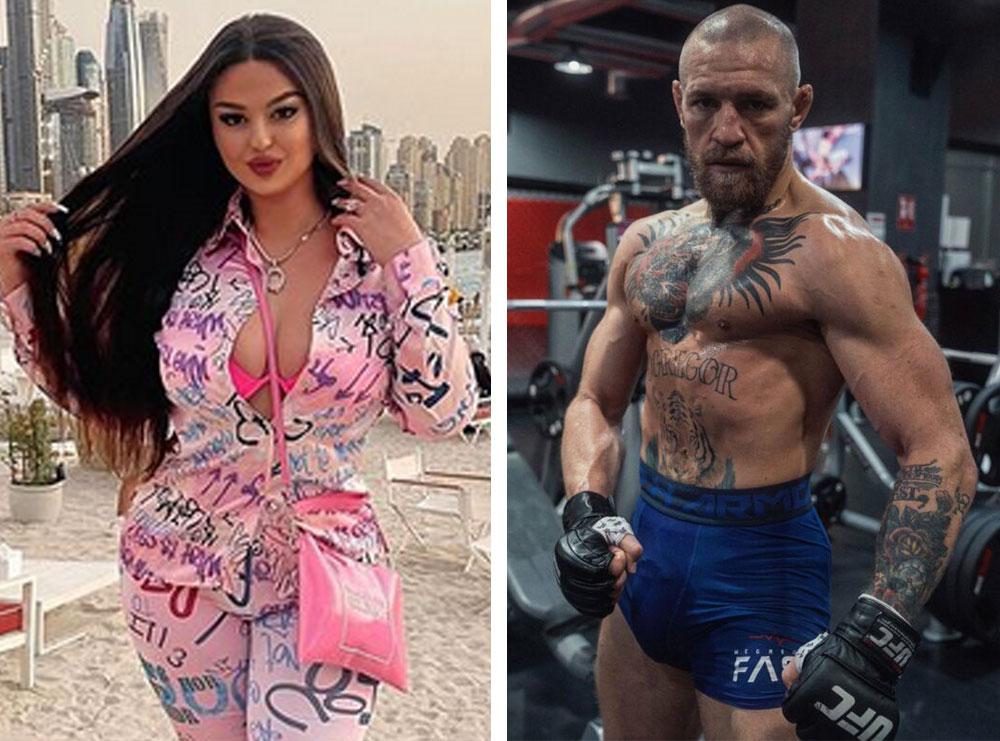 Rastësia 'Mbreti botës'! Enca pranë boksierit Conor McGregor në Dubai, këngëtarja: Rastësisht të ulur…