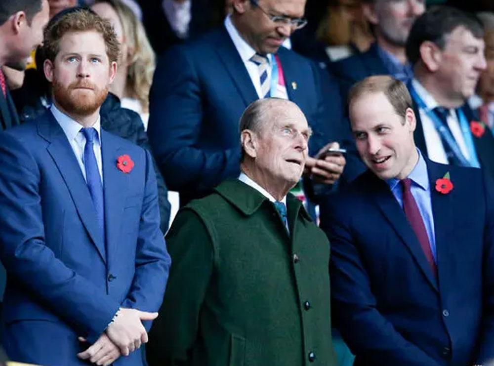 Në funeralin e princit Philip pritet që Harry dhe William të aktrojnë