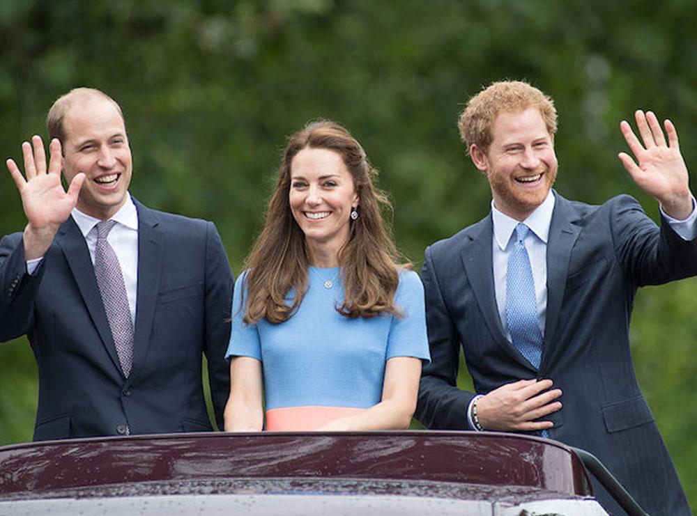 Kate Middleton dëshiron që Harry dhe William të pajtohen