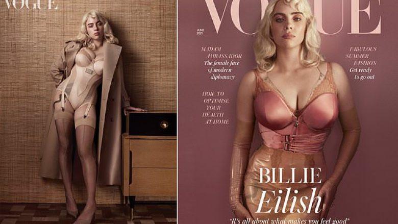 "Billie Eilish pozon për britaniken ""Vogue"", këngëtarja 'zbulon' hiret"