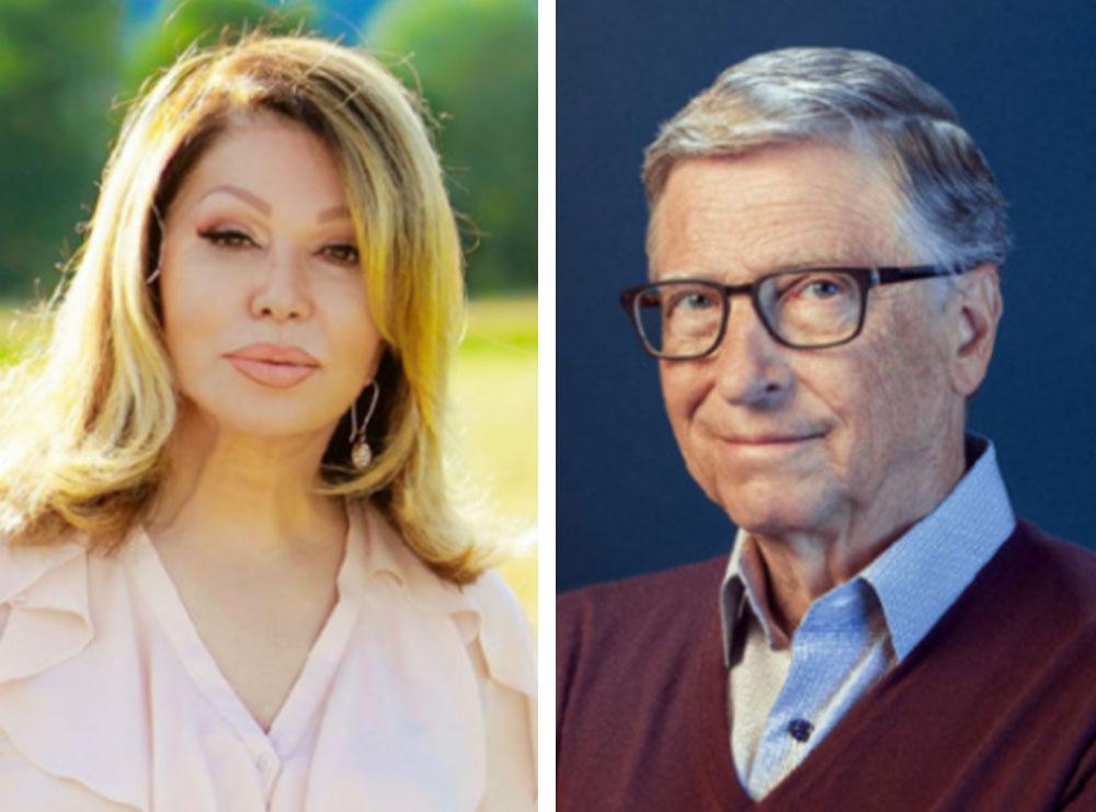 Pak kohë pas publikimit të lajmit të divorcit këngëtarja serbe propozon Bill Gates për martesë