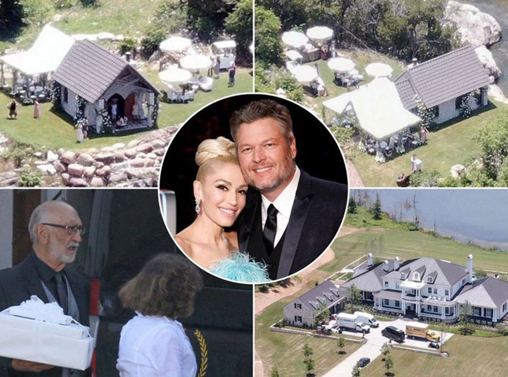 Blake Shelton and Gwen Stefani martohen në një ceremoni të fshehtë