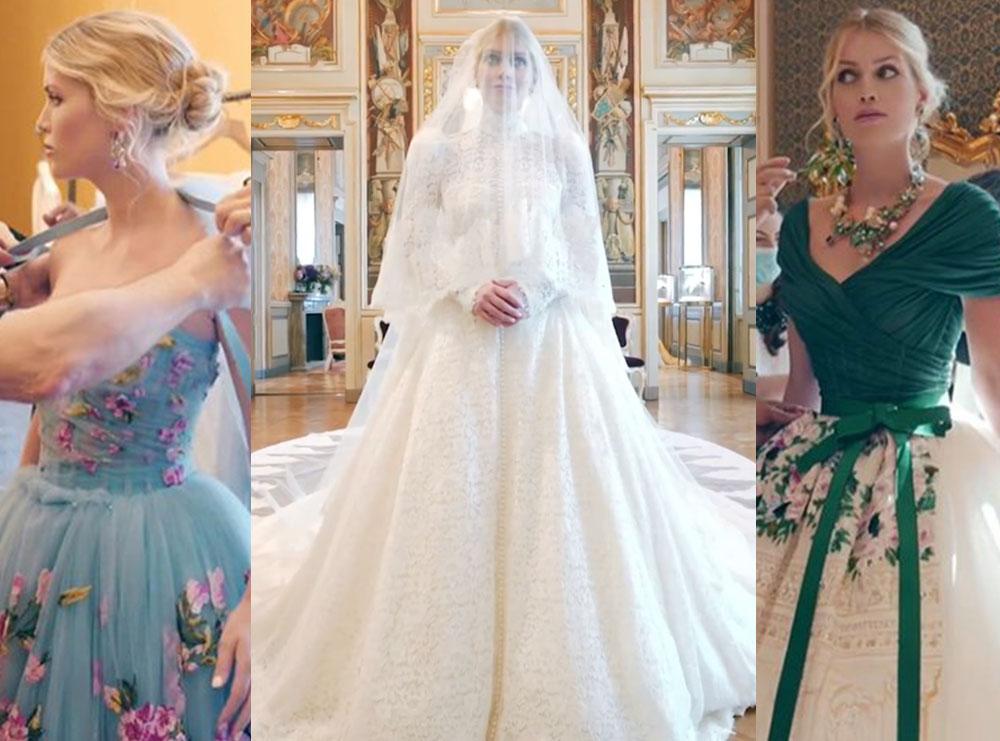 Nga babai që nuk ishte prezent deri tek 5 fustanet e nusërisë; Kjo ishte dasma e mbesës së princeshë Dianës