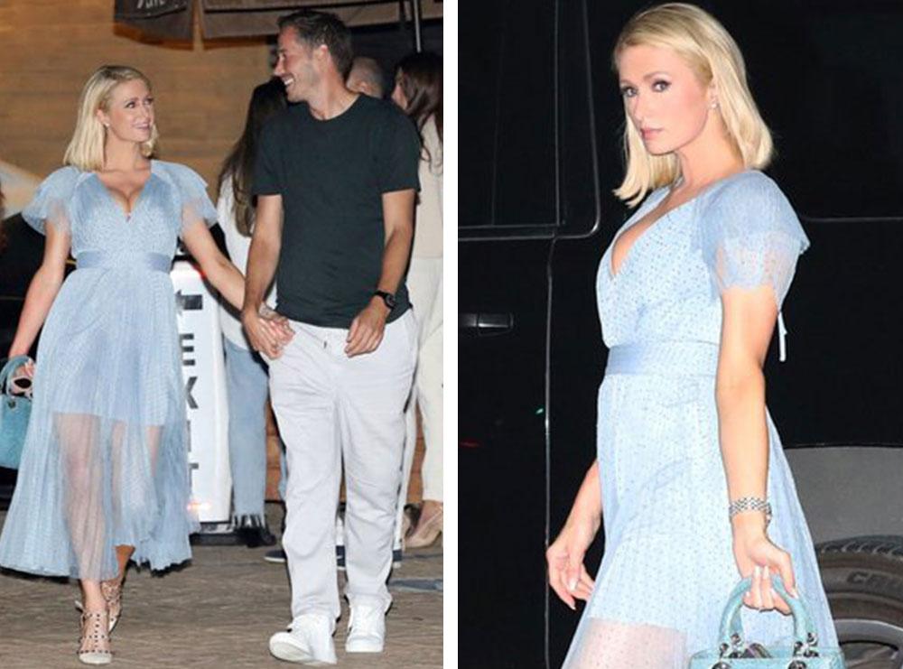 Paris Hilton nënë për herë të parë