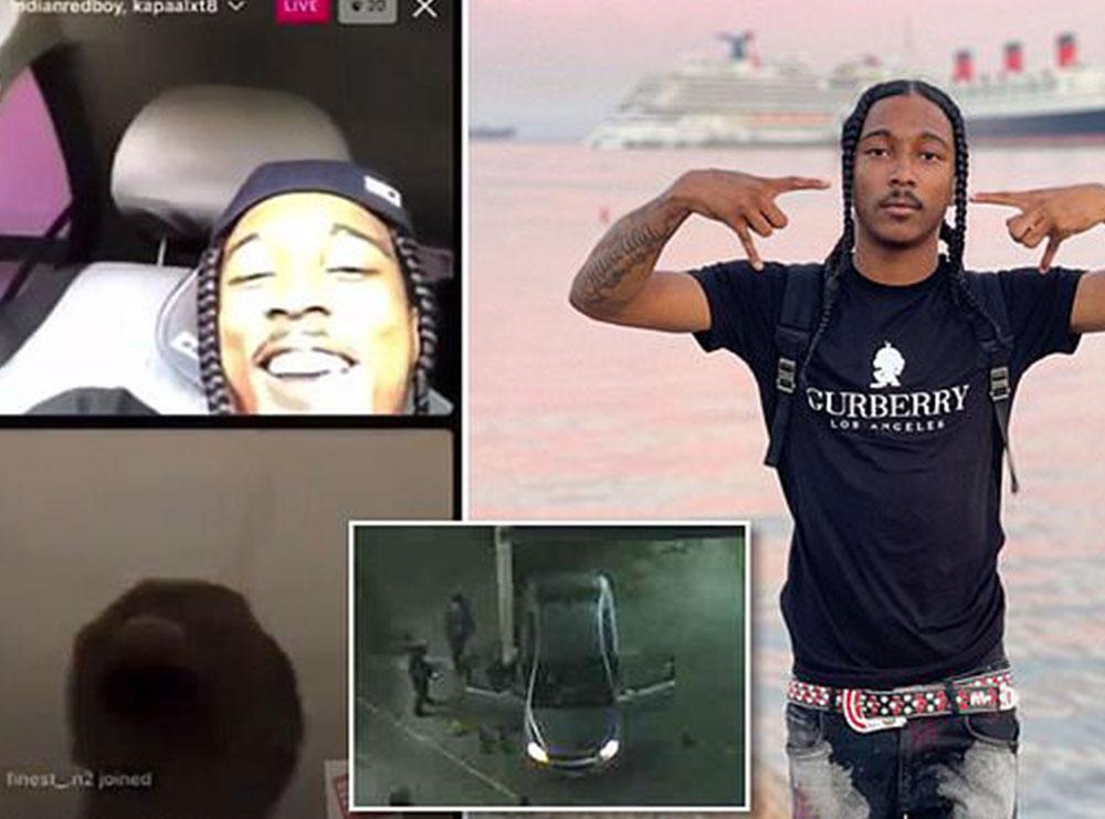 Mosmarrëveshje mes bandave/ Qëllohet 12 herë, reperi vritet teksa ishte 'live' në Instagram