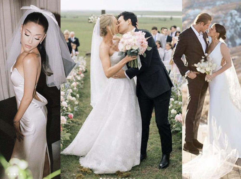 Ja si janë veshur në dasmën e tyre të famshmit