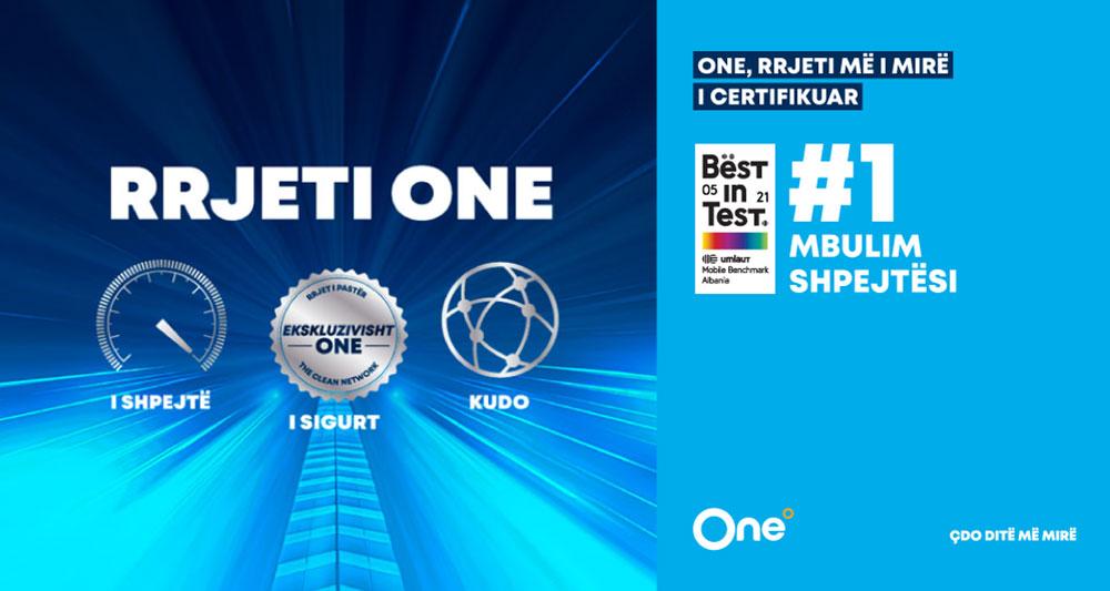 ONE Telecommunications, me rrjetin më të mirë dhe më të sigurt në Shqipëri