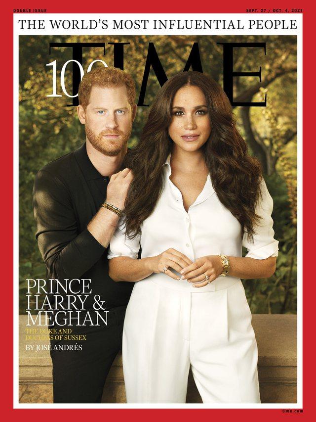 Meghan dhe Harry shfaqen në kopertinën e 'Time 100', por njerëzit fiksohen me foton. Çfarë s'shkon?