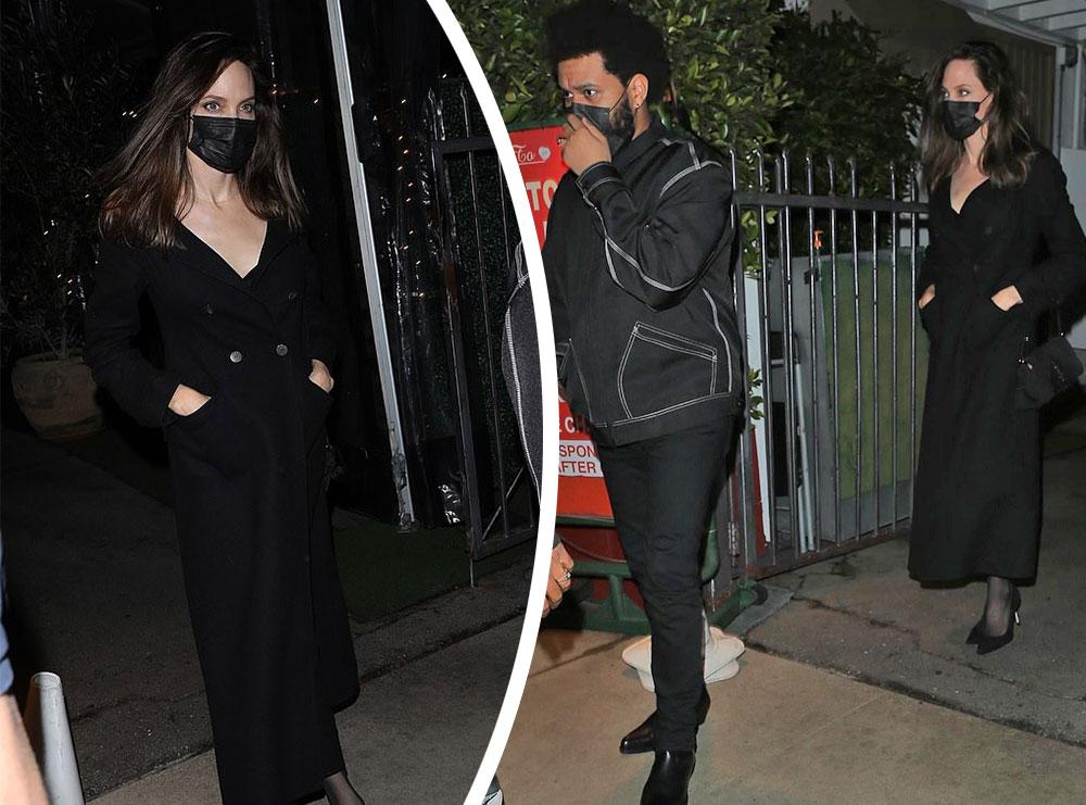 Angelina Jolie dhe The Weeknd nxisin sërish thashethemet për romancë