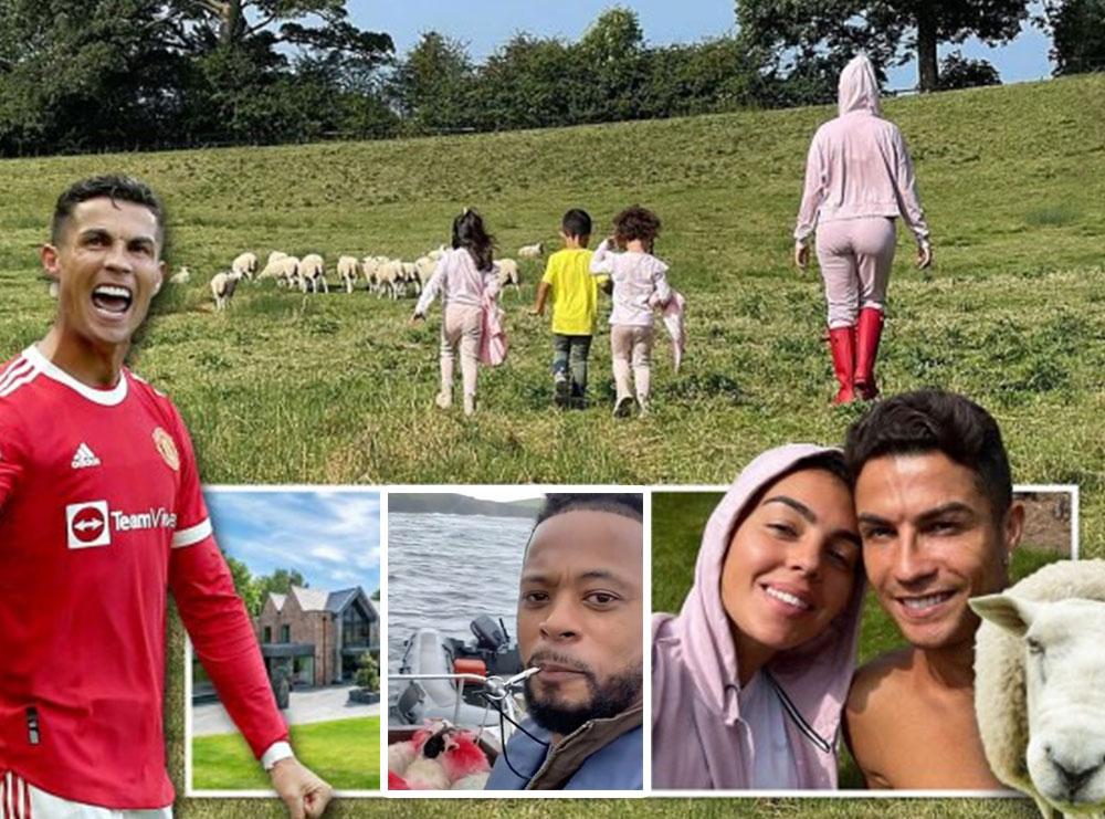 """VIDEO/ """"Mos u shqetëso vëlla, po i transferoj delet e mia larg shtëpisë tënde"""", Evra tallet me Kristiano Ronaldon"""