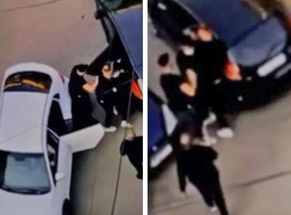 Del video e rrëmbimit të Kozakut: Katër veta e ngjeshin në makinë, ja çfarë fiksuan kamerat