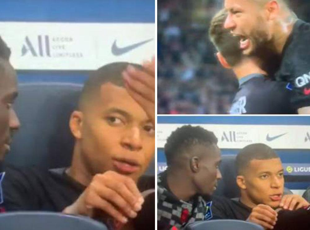 """""""Ai rrugaç nuk ma pason topin"""": Mbappé kapet nga kamerat duke ofenduar Neymar"""