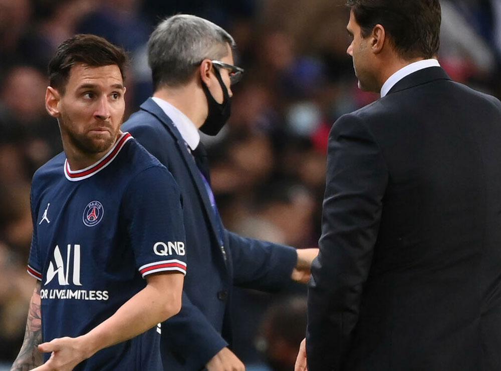 FOTO/ Tension te PSG-ja, Mesi refuzon t'i japë dorën Poçetinos
