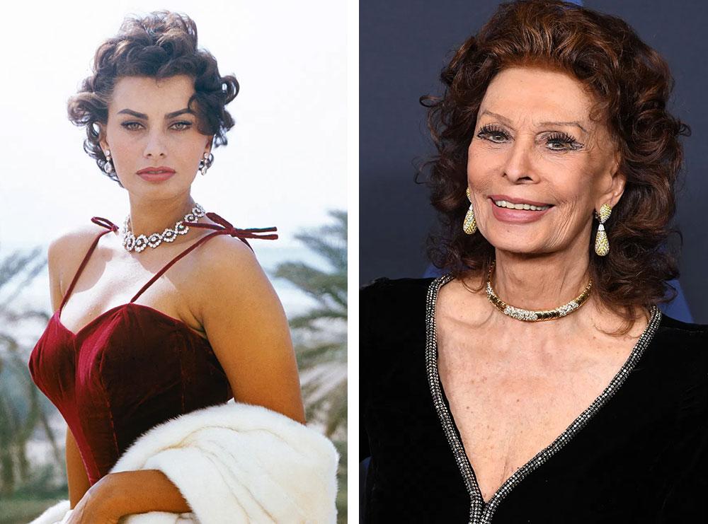 Sophia Loren feston ditëlindjen, sa vjeçe mbush diva e kinematografisë italiane