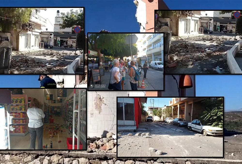 Tërmeti me magnitudë 5.8 rihter në Kretë, vdes një person, gjendet nën rrënojat e kishës