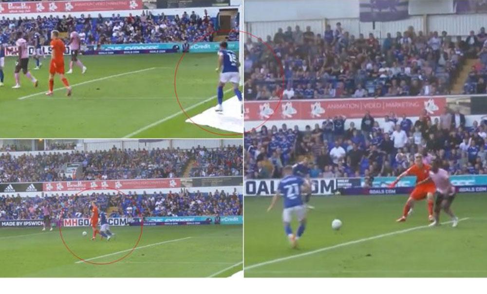 VIDEO/ Gol epik në Angli, futbollisti i vjedh topin mjeshtërisht portierit