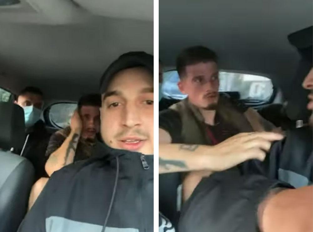 Video/ Dhunohet brenda në makinë Kozak: Thuaj të ha…