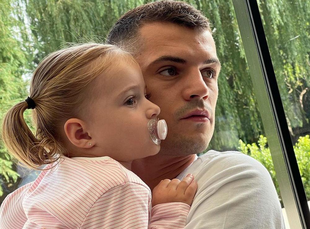 Granit Xhaka është baba tipik vajzash, dedikimi i ëmbël që i bën së bijës