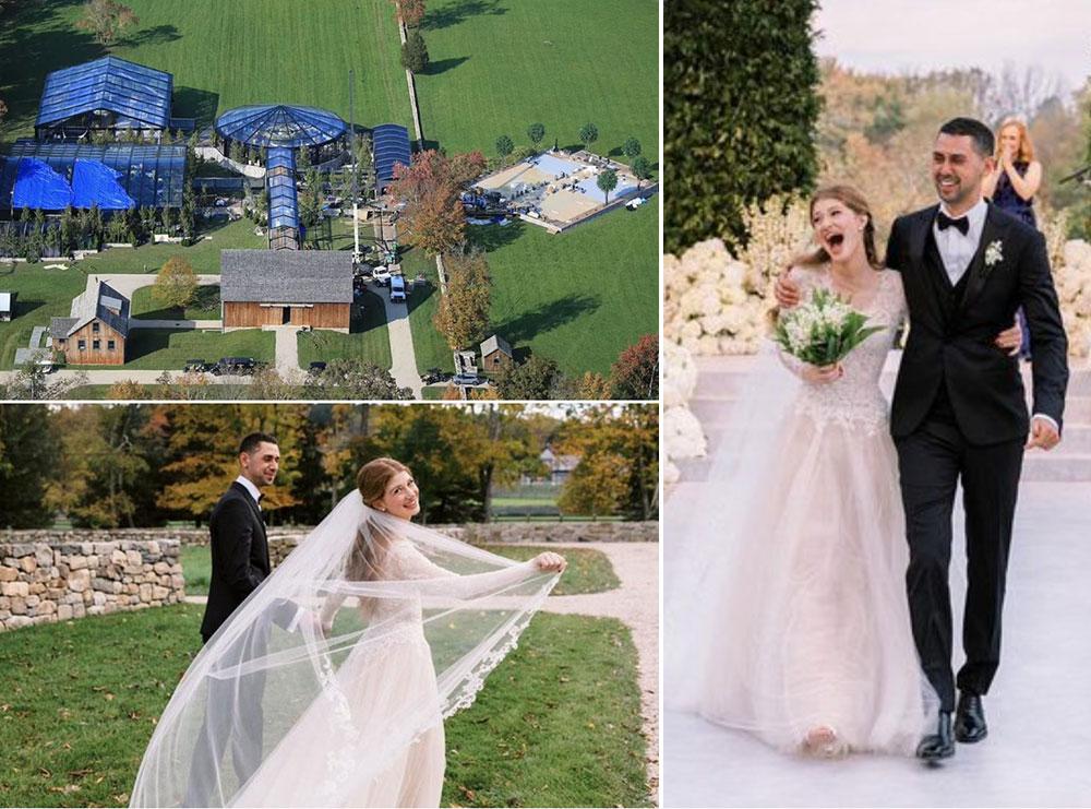 Vajza e Bill dhe Melinda Gates i jep fund beqarisë, ja pamjet nga dasma përrallore prej 2 milionë dollarësh