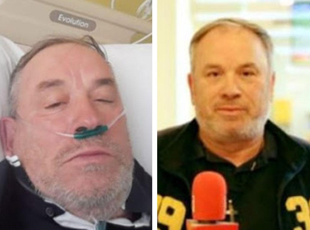 E trishtë! Humb betejën me koronavirusin në moshën 59-vjeçare gazetari i njohur, Kosta Grillo