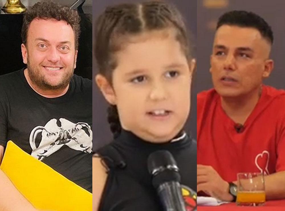 Rrjeti çmendet nga deklarata bullizuese e Albi Nakos, Olti Curri ka një mesazh për vogëlushen: Mos e çaj koken fare!