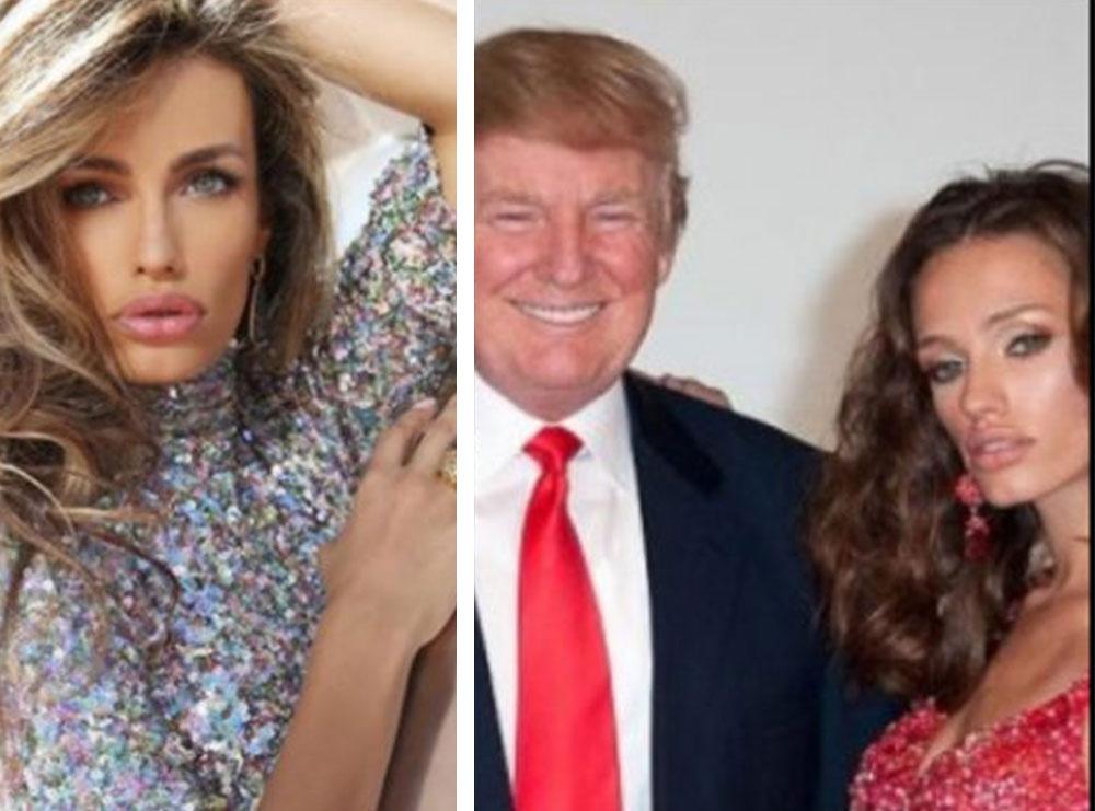 Zana Krasniqi tregon kur duhej të dilte me Trumpin në foto, por ajo s'e honepste dot