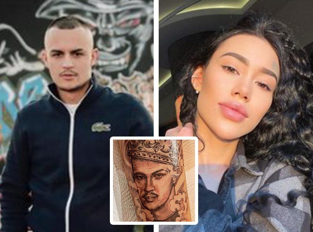 Së pari bëri tatuazh portretin e tij, tani modelja ruse ka marrë mbiemrin e Don Xhonit